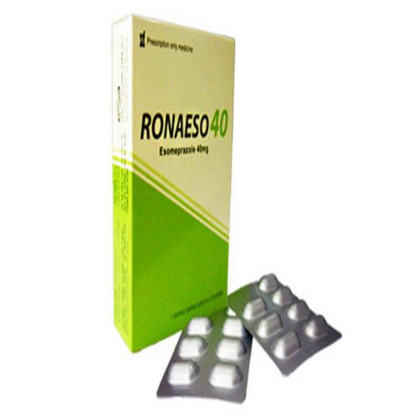 Thuốc Ronaeso 40 - Hộp 14 Viên - Điều Trị Trào Ngược Dạ Dày