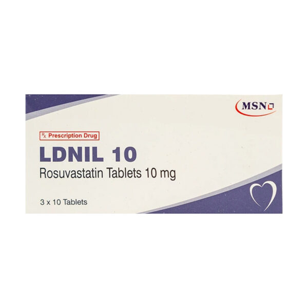 Rosuvastatin 10mg Hộp 30 Viên - Điều Trị Tăng Lipid Máu