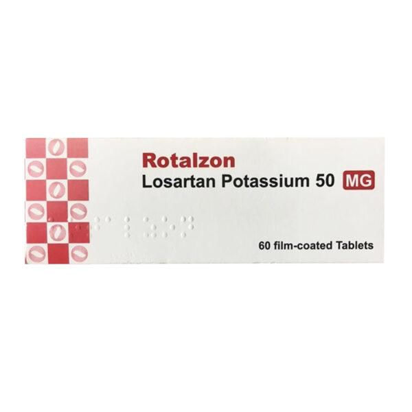 Rotalzon 50mg Hộp 60 Viên - Điều Trị Huyết Áp Cao
