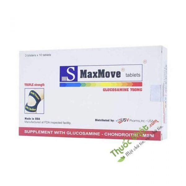 S-Maxmove Hộp 30 Viên - Viên Uống Bổ Xương Khớp