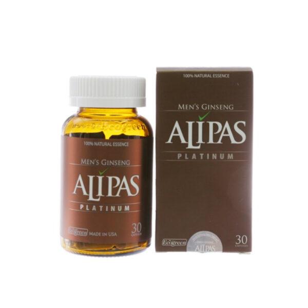 Sâm Alipas Platium Hộp 30 Viên - Tăng Cường Sinh Lí Nam