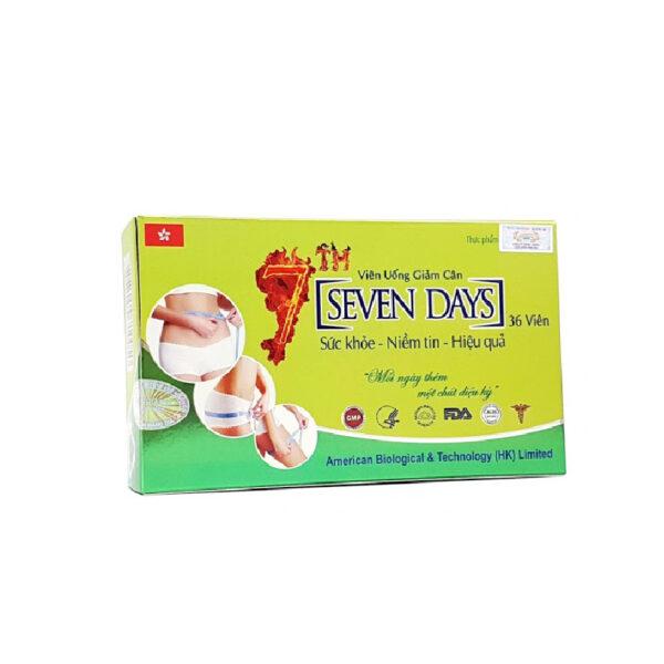 Seven Days 36 Viên - Viên Uống Giảm Cân