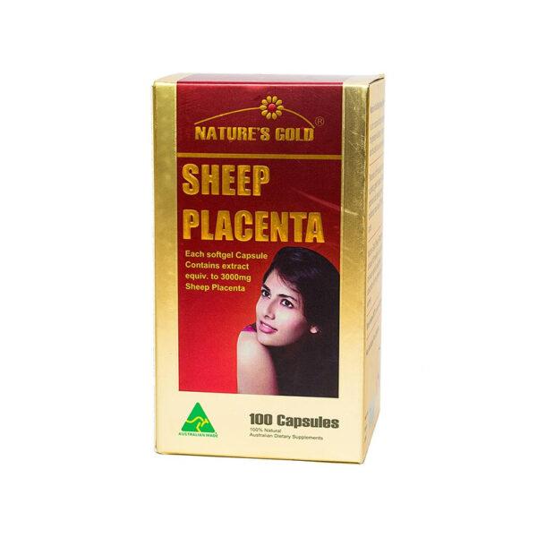 Sheep Placenta  Hộp 100 Viên - Nhau Thai Cừu Úc