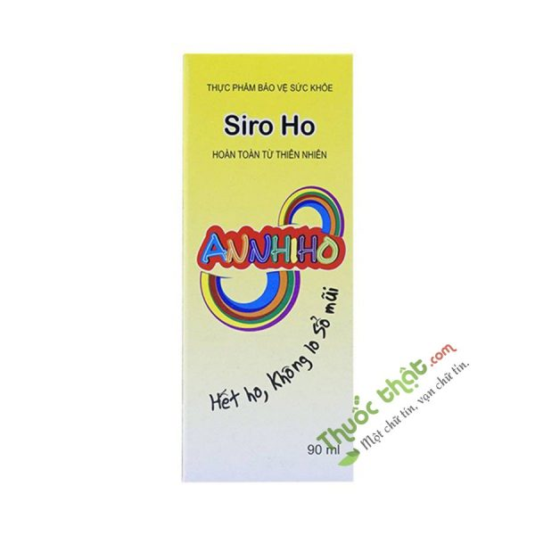Annhiho Lọ 90 ml - Siro Giảm Ho, Long Đờm