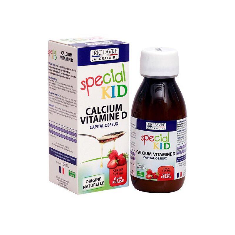 Special Kid Calcium Vitamine D Chai 125ml