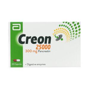 Creon 25000 Hộp 20 viên - Điều trị bệnh đường tiêu hóa