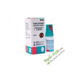Taflotan Lọ 2.5ml - Giảm Áp Lực Nội Nhãn Cao