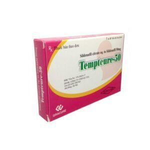 Thuốc Temptcure 50 - Hộp 4 Viên - Tăng Cường Sinh Lý Nam