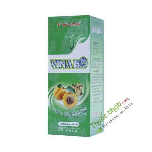 Vinaho Lọ 100ml -  Thảo Dược Trị Viêm Họng Thái Dương