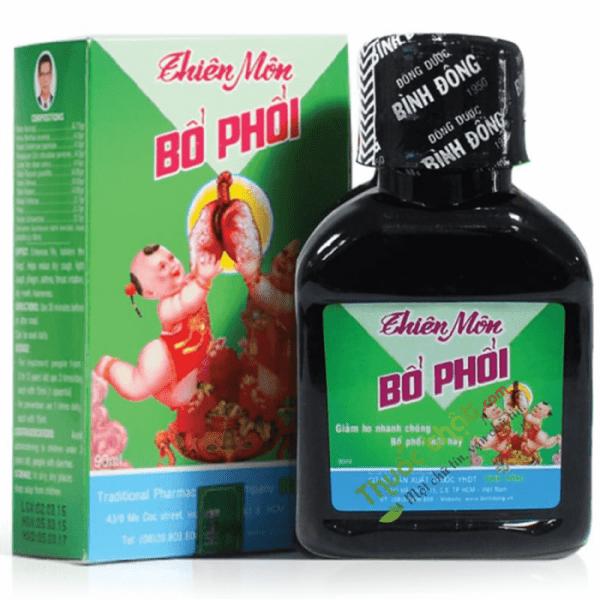 Thiên Môn Bổ Phổi Chai 90 ml - Bổ Phổi Trẻ Em Bình Đông