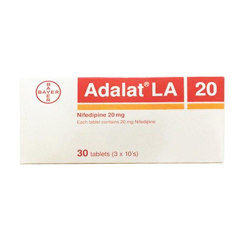 Thuốc Adalat La 20