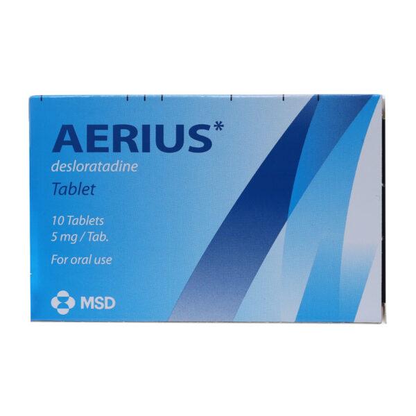 Thuốc Aerius 5mg - Giảm Viêm Mũi Dị Ứng, Mề Đay