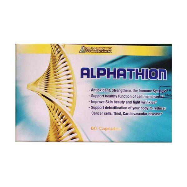 Thuốc Alphathion 60 viên - Chống gốc tự do