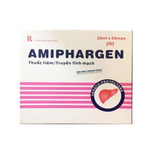 Amiphargen Hộp 5 ống - Điều trị eczema, viêm da