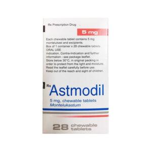 Astmodil 5mg Hộp 28 Viên - Điều Trị Hen Phế Quản