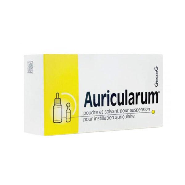 Auricularum Hộp 1 Lọ + 1 Ống - Điều Trị Viêm Tai Ngoài
