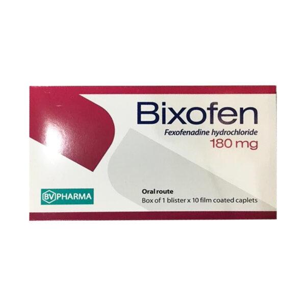 Bixofen Hộp 10 Viên - Điều Trị Dị Ứng Ngoài Da