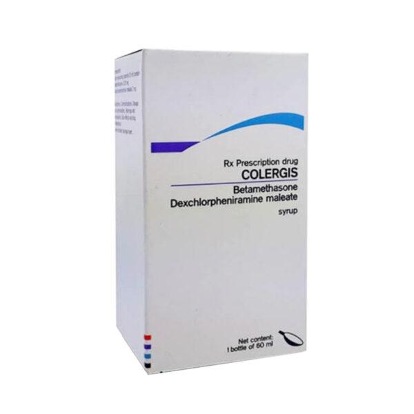 Thuốc Colergis Lọ 60 ml - Điều Trị Viêm, Dị Ứng, Mê Đay