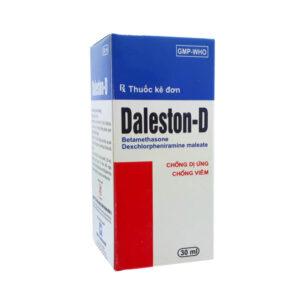 Daleston D 30ml - Điều Trị Viêm Da, Viêm Mũi