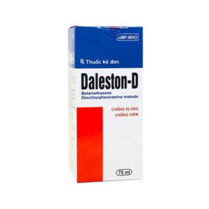 Daleston D 75ml - Điều Trị Dị Ứng, Chống Viêm