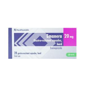 Thuốc Emanera 20 mg - Điều trị trào ngược dạ dày thực quản