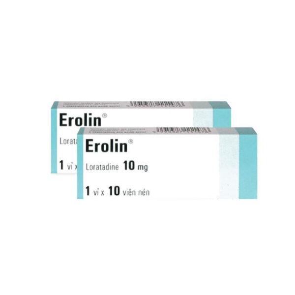 Erolin Hộp 30 Viên - Điều Trị Viêm Mũi Dị Ứng