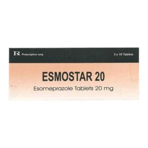 Thuốc Esmostar 20 mg - Điều Trị Trào Ngược Dạ Dày Thực Quản