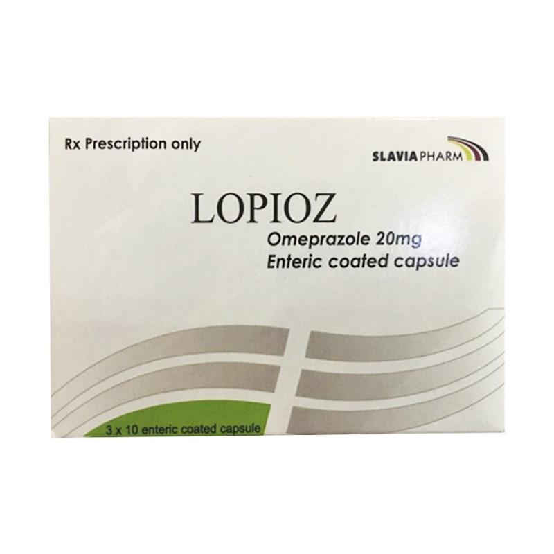 Thuốc Lopioz 20Mg