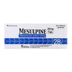 Mesulpine 20mg Hộp 28 Viên - Điều Trị Loét Dạ Dày Tá Tràng
