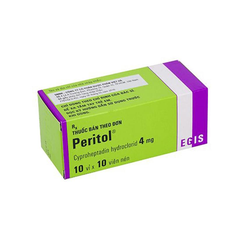 Thuốc Peritol 4mg