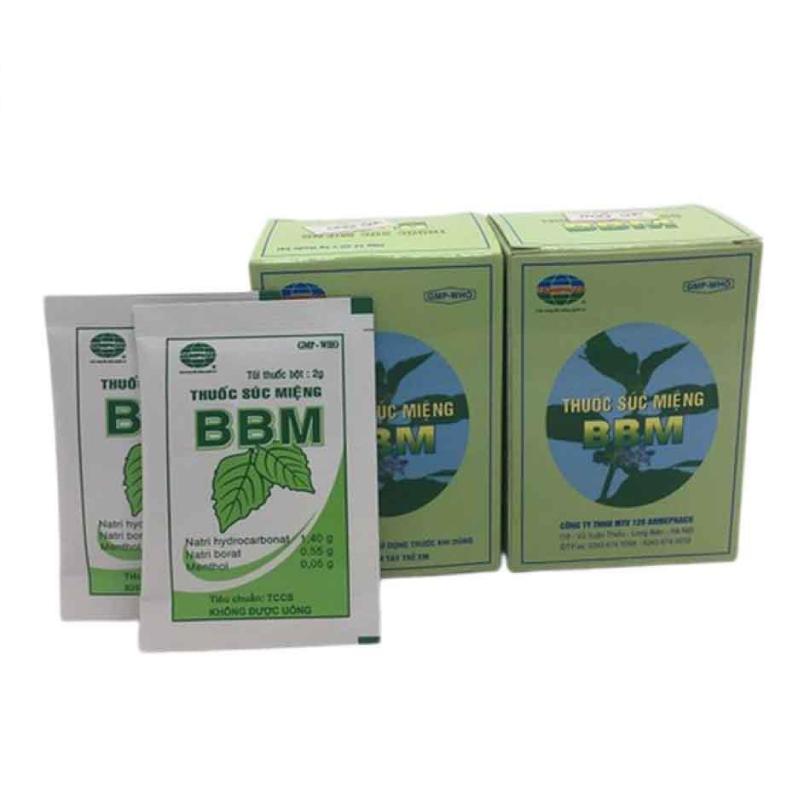 Thuốc bột BBM hộp 12 gói