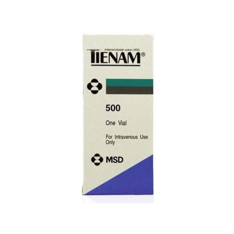 Thuốc bột pha tiêm Tienam 500Mg