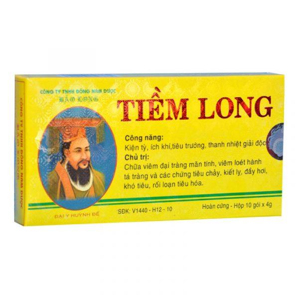 Tiềm Long Hộp 10 gói - Điều trị đầy hơi, khó tiêu