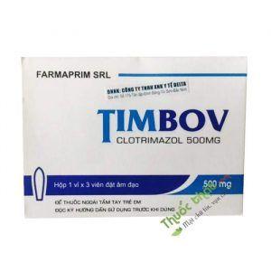 Timbov Hộp 3 Viên - Điều Trị Nấm Âm Đạo