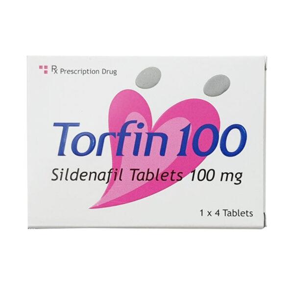 Torfin 100 Hộp 4 Viên - Điều Trị Rối Loạn Cương Dương