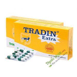 Thuốc Tradin Extra - Hộp 20 Viên - Điều Trị Viêm Đại Tràng