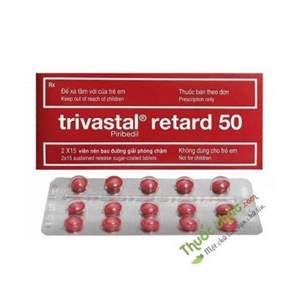 Trivastal Retard 50 Hộp 30 Viên - Điều Trị Bệnh Parkinson