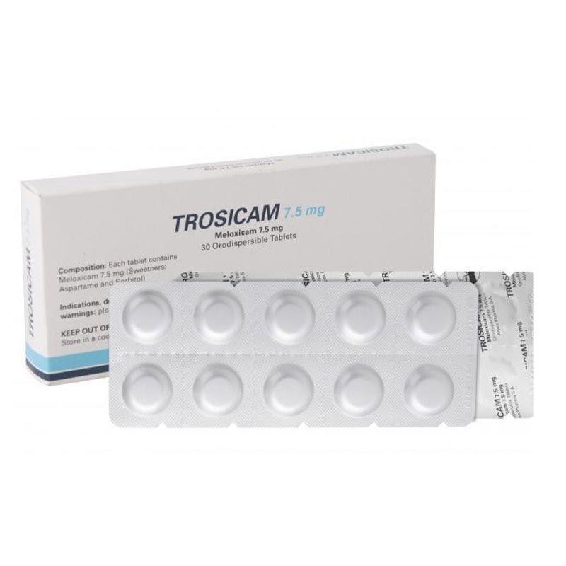 Thuốc Trosicam - Hộp 30 Viên