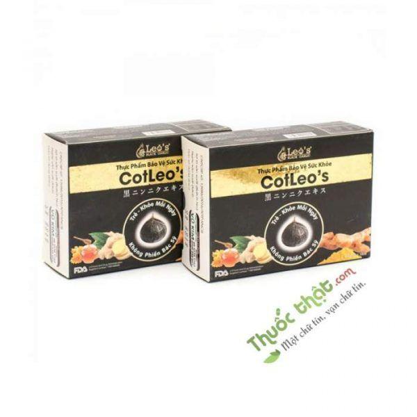 Leo's Black Garlic Hộp 5 Gói - Hỗ Trợ Tăng Cường Sức Khỏe