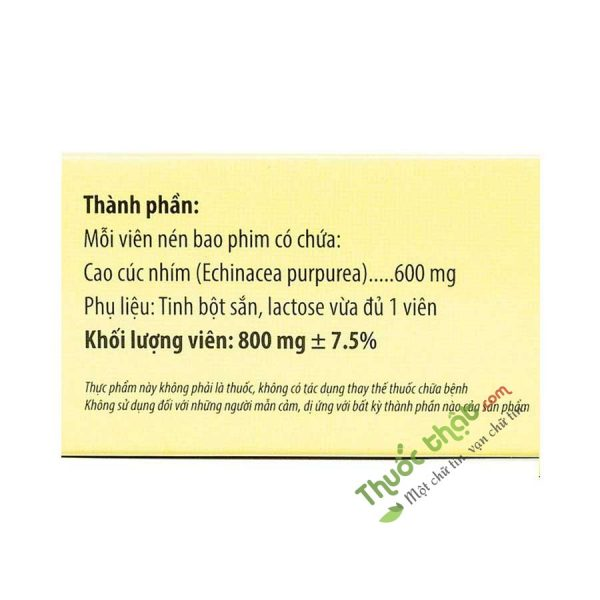 Echina Kingphar Hộp 30 Viên  - Điều Trị Viêm Họng