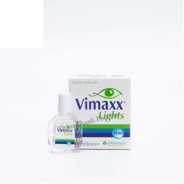 Vimaxx Lights 15ml - Thuốc Nhỏ Trị Khô Rát Mắt