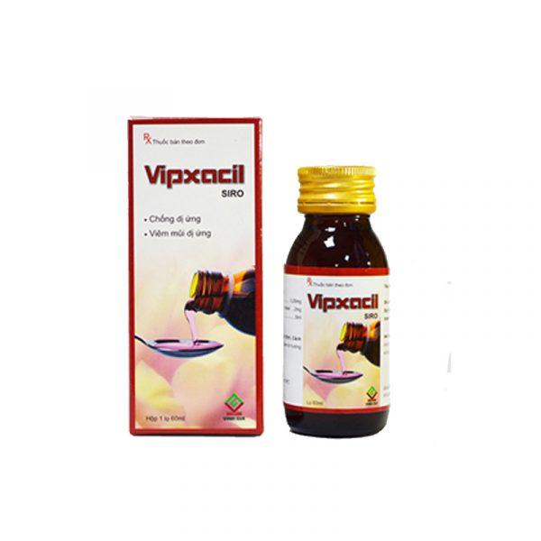 Vipxacil siro - Thuốc trị ho - Hộp 1 lọ 60ml