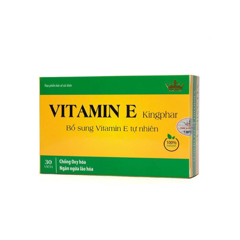 Vitamin E Kingphar 30 Viên