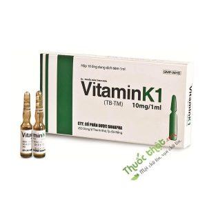 Vitamin K1 Hộp 10 Ống - Phòng Xuất Huyết Não Trẻ Sơ Sinh