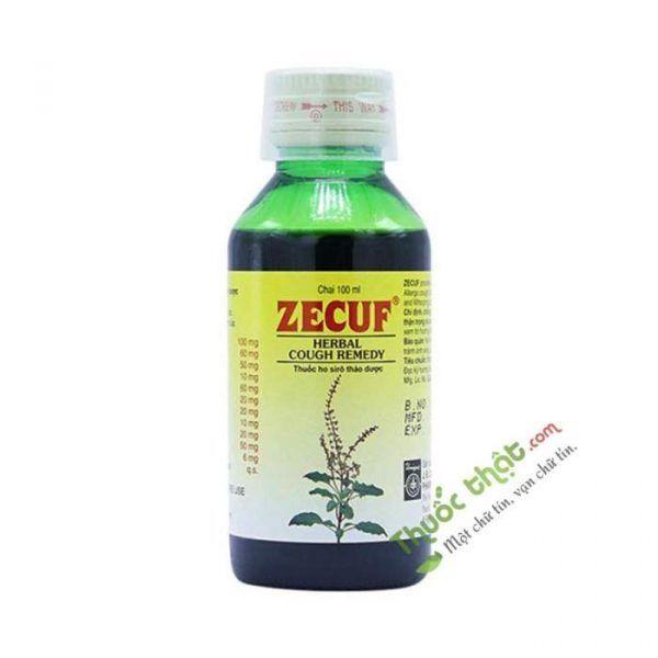 Zecuf Chai 100ml - Hỗ Trợ Điều Trị Ho
