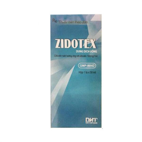 Thuốc Zidotex 100mg/1ml Lọ 50 ml- Điều Trị Đau Thần Kinh