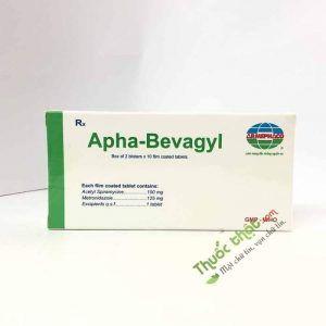 Thuốc Apha Bevagyl-Hộp 20 Viên-Trị Nhiễm Khuẩn Răng Miệng