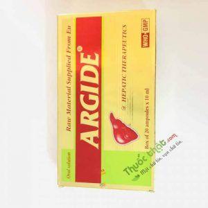 Argide Hộp 20 ống - Bảo vệ tế bào gan