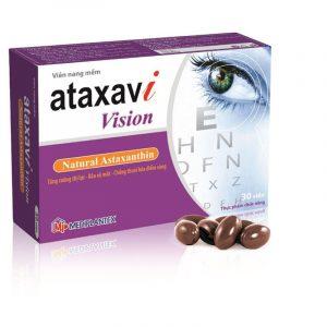 Ataxavi Vision - Hộp 30 Viên - Tăng Cường Thị Lực