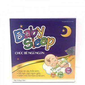 Baby sleep Hộp 10 ống - Giúp trẻ ăn ngon ngủ ngon
